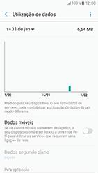 Samsung Galaxy A3 (2017) - Internet no telemóvel - Como ativar os dados móveis -  6