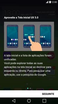 LG G5 Stylus - Primeiros passos - Como ativar seu aparelho - Etapa 16