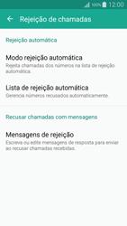 Samsung Galaxy A5 - Chamadas - Como bloquear chamadas de um número específico - Etapa 9