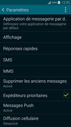 Samsung G850F Galaxy Alpha - SMS - Configuration manuelle - Étape 6