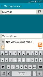 Samsung Galaxy A3 - Mensajería - Escribir y enviar un mensaje multimedia - Paso 14