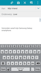 Samsung G900F Galaxy S5 - E-mail - Bericht met attachment versturen - Stap 9
