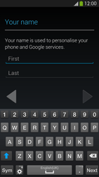 Samsung I9505 Galaxy S IV LTE - Applications - Create an account - Step 5