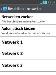 LG E430 Optimus L3 II - Netwerk - gebruik in het buitenland - Stap 12