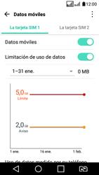 LG K4 (2017) - Internet - Ver uso de datos - Paso 11