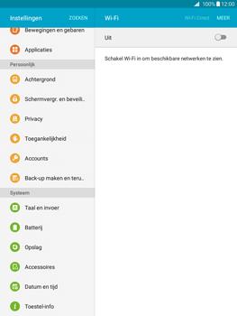 Samsung Galaxy Tab A 9.7 (SM-T555) - Instellingen aanpassen - Fabrieksinstellingen terugzetten - Stap 4