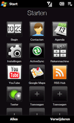 HTC T5353 Touch Diamond II - Instellingen - Instellingen wizard - Stap 3