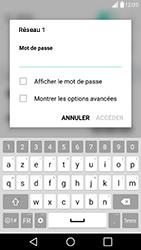 LG G5 SE - Android Nougat - WiFi et Bluetooth - Configuration manuelle - Étape 7
