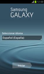 Samsung S7560 Galaxy Trend - Primeros pasos - Activar el equipo - Paso 2