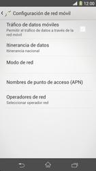 Sony Xperia Z1 - Internet - Activar o desactivar la conexión de datos - Paso 7