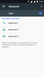 Nokia 3 Dual SIM (TA-1032) - Bluetooth - Aanzetten - Stap 5