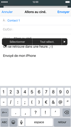 Apple iPhone 6 iOS 9 - E-mail - envoyer un e-mail - Étape 8