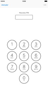 Apple iPhone 6s Plus - Sécuriser votre mobile - Personnaliser le code PIN de votre carte SIM - Étape 8
