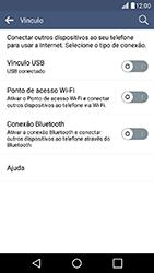 LG K10 - Wi-Fi - Como usar seu aparelho como um roteador de rede wi-fi - Etapa 5