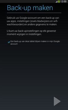 Samsung T315 Galaxy Tab 3 8-0 LTE - Applicaties - Account aanmaken - Stap 22