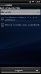 Sony Ericsson Xperia Neo V - E-mail - Handmatig instellen - Stap 14