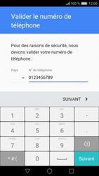 Huawei Huawei P9 Lite - Applications - Créer un compte - Étape 7
