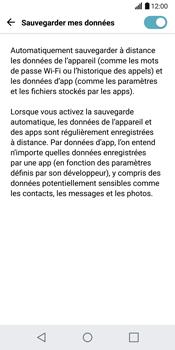 LG H870 G6 - Device maintenance - Back up - Étape 9