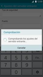 Samsung G900F Galaxy S5 - E-mail - Configurar correo electrónico - Paso 11