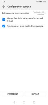 Huawei Mate 20 Pro - E-mail - Configuration manuelle - Étape 16