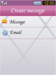 Samsung S7070 Diva - E-mail - Sending emails - Step 5