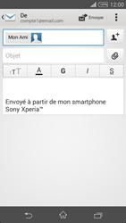 Sony Xpéria Z3 - E-mails - Envoyer un e-mail - Étape 8