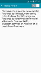 Samsung Galaxy A3 - Funciones básicas - Activar o desactivar el modo avión - Paso 5