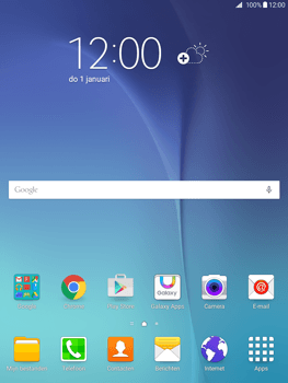 Samsung Galaxy Tab A 9.7 - Internet - Populaire sites - Stap 1