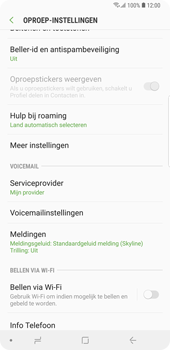 Samsung Galaxy Note9 - Bellen - bellen via wifi (VoWifi) - Stap 6