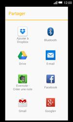 Alcatel OT-5050X Pop S3 - Photos, vidéos, musique - Créer une vidéo - Étape 12
