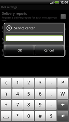 HTC Z715e Sensation XE - SMS - Manual configuration - Step 7