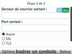 Nokia C3-00 - E-mail - Configuration manuelle - Étape 9