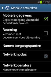 Samsung S6790 Galaxy Fame Lite - Netwerk - Handmatig netwerk selecteren - Stap 9