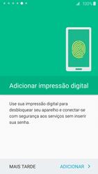 Samsung Galaxy S6 - Primeiros passos - Como ativar seu aparelho - Etapa 18
