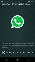 Microsoft Lumia 650 - Aplicações - Como configurar o WhatsApp -  5