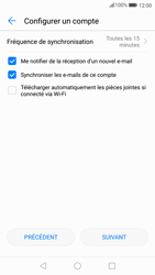 Huawei P10 - Android Oreo - E-mail - Configurer l