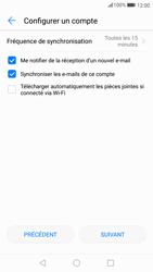 Huawei P10 - Android Oreo - E-mail - Configuration manuelle - Étape 18