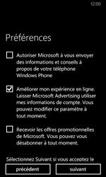 Nokia Lumia 630 - Applications - Créer un compte - Étape 20