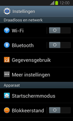 Samsung I8730 Galaxy Express - MMS - Handmatig instellen - Stap 5