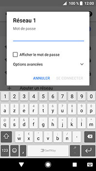Sony Xperia XA2 Ultra - Wifi - configuration manuelle - Étape 7