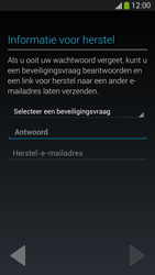 Samsung I9505 Galaxy S IV LTE - Applicaties - Account aanmaken - Stap 12