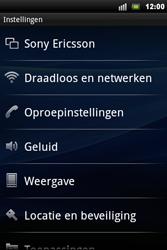 Sony Ericsson Xperia Mini Pro - Buitenland - Bellen, sms en internet - Stap 5