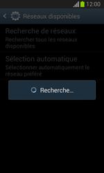 Samsung S7390 Galaxy Trend Lite - Réseau - Sélection manuelle du réseau - Étape 7