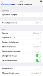 Apple iPhone 6 Plus iOS 8 - E-mail - Configuration manuelle - Étape 4