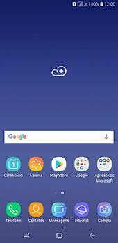 Samsung Galaxy J6 - Primeiros passos - Baixar o manual - Etapa 1