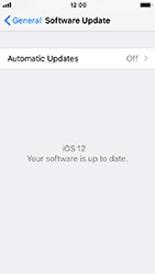 Apple iPhone SE - iOS 12 - Device - Software update - Step 7