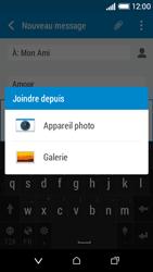 HTC Desire 510 - Contact, Appels, SMS/MMS - Envoyer un MMS - Étape 15