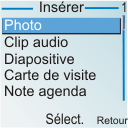 Nokia 6030 - MMS - envoi d'images - Étape 7