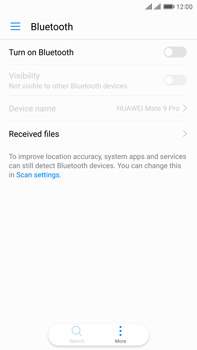 Huawei Mate 9 Pro - Bluetooth - Pair with another device - Step 4
