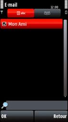 Nokia 5800 Xpress Music - E-mail - envoyer un e-mail - Étape 8
